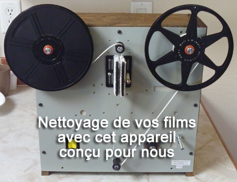 cassette nettoyage vhs